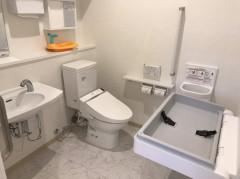 多機能トイレを含め2つトイレがあります